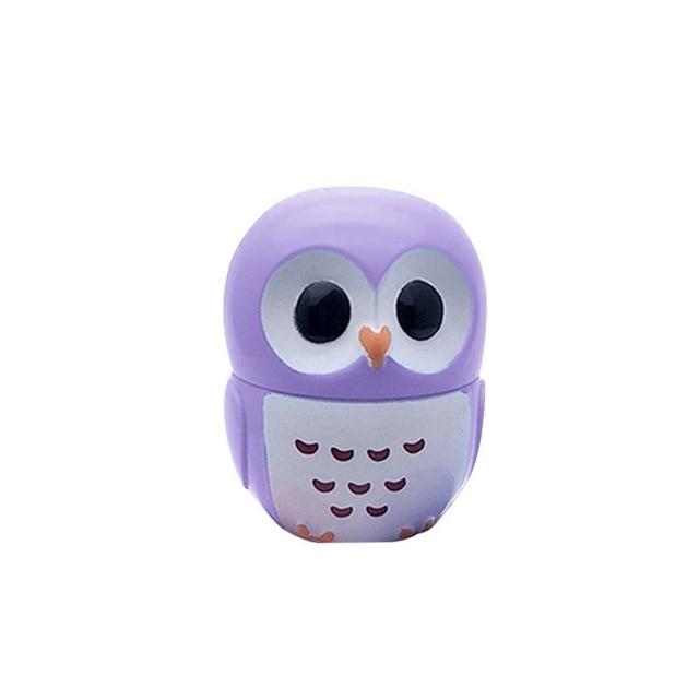 1 Pc Candy Color Owl Moisturizing Lip Balm Natural Plant Sphere Lip Gloss healthy Fruit Embellish Lipstick Makeup Tool 3