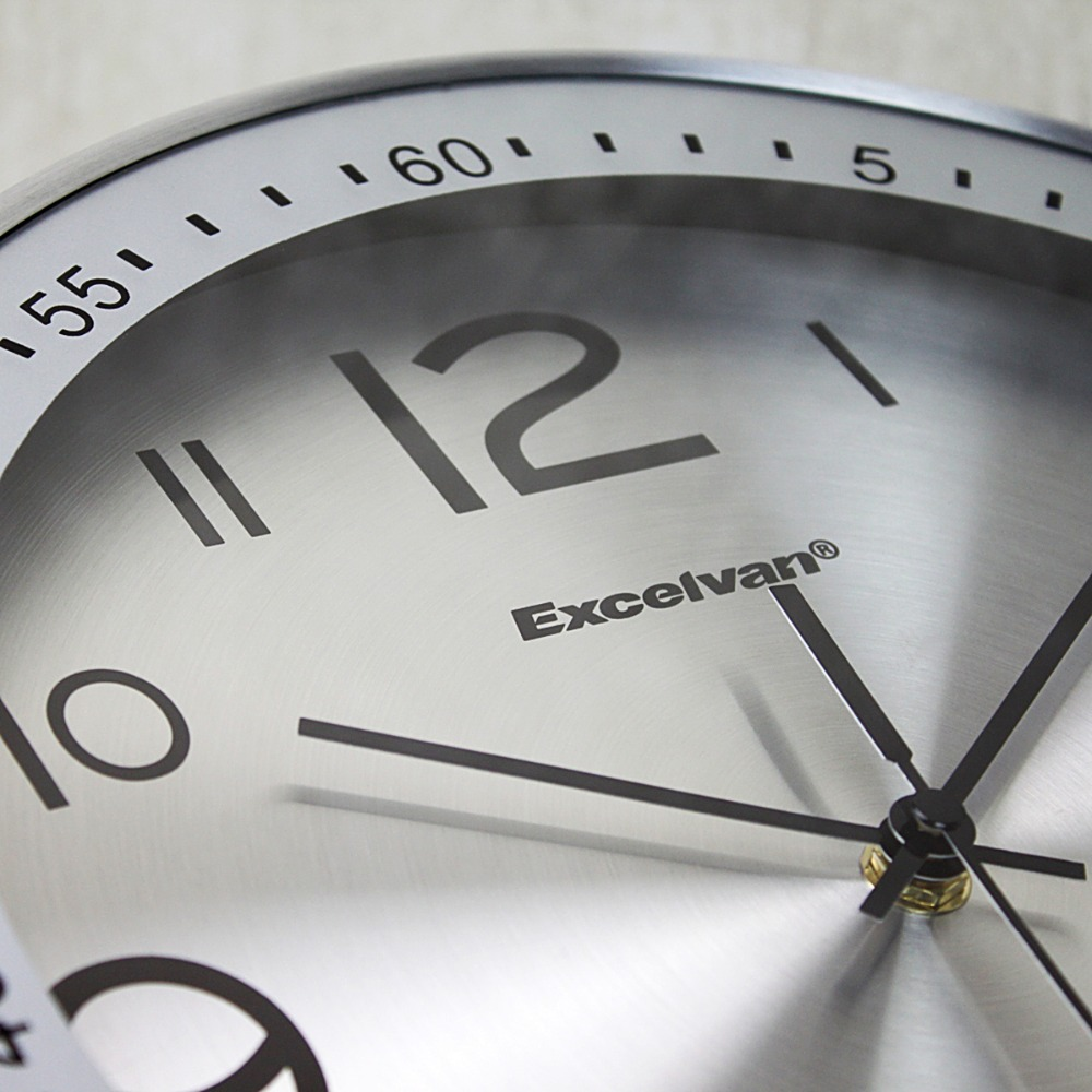 Aliexpress Buy Excelvan 12 Large Silent Wall Clock Quiet
