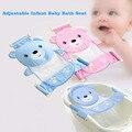 Novo 2 Cores Infantil Ajustável Assento De Banho Do Bebê Banho de banho Banheira Assento Design Simples Conveniente Assistência Para O Banho Do Bebê Recém-nascido