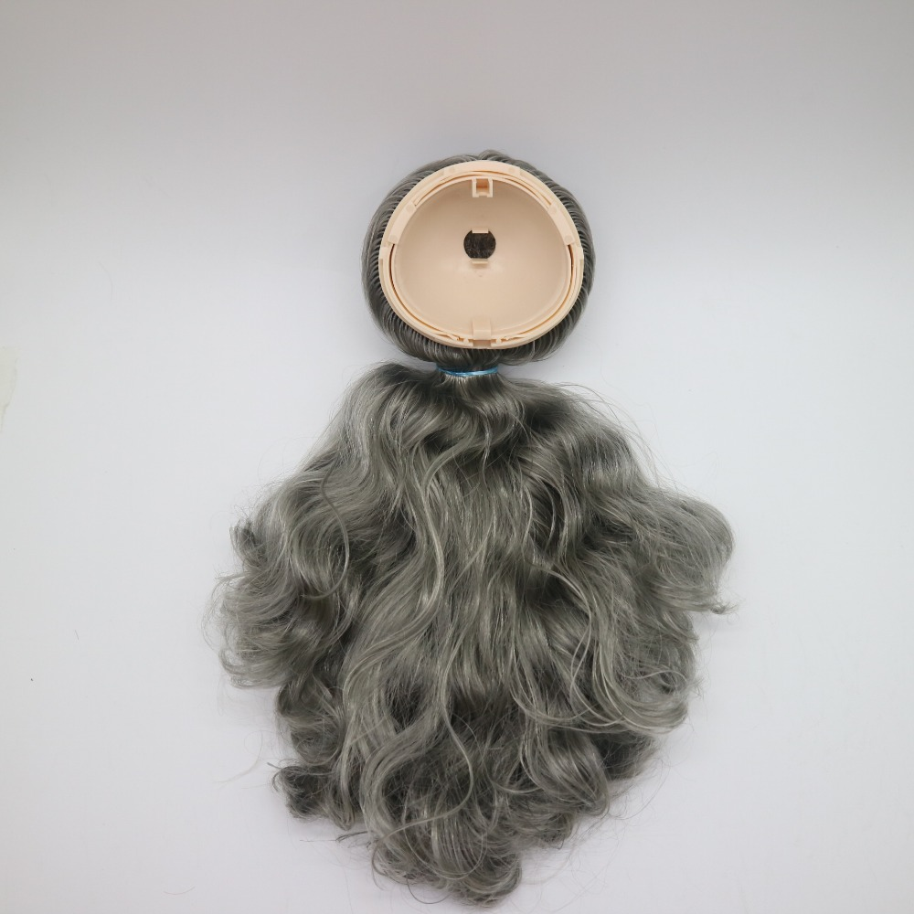 Objective Rbl Doll Scalp Suitable For Blyth Dark Gray Hair 201806 Modern Techniques