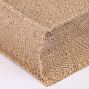 Arsmundi High-Quality Women Men Handbags Cotton Foldable Reusable Shopping Bag Rubbing Cart Eco Shoulder Organization Bag 5