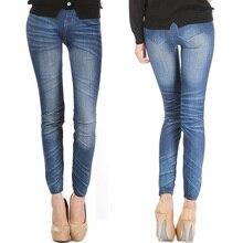 Удобные обтягивающие штаны, Джинсовые леггинсы, женские модные сексуальные джинсы, облегающие эластичные леггинсы, обтягивающие леггинсы