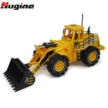 Remote Control Excavator Vehicle Toys RC Truck 6CH 4WD Construction Engineer Veh