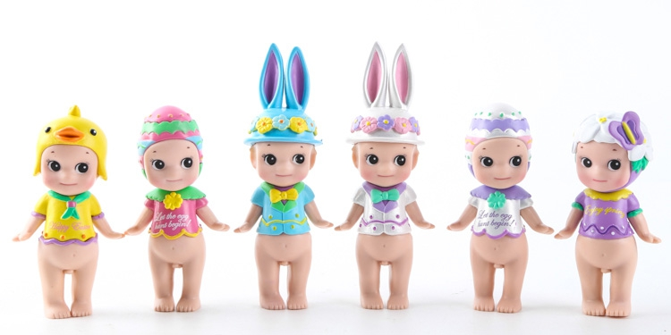 Sonny Angel  Figures Easter Series 6pcs/set Toys Christmas & Brithday Gift PVC Action Figure Collectible Model Toy 8cmKT3113 1