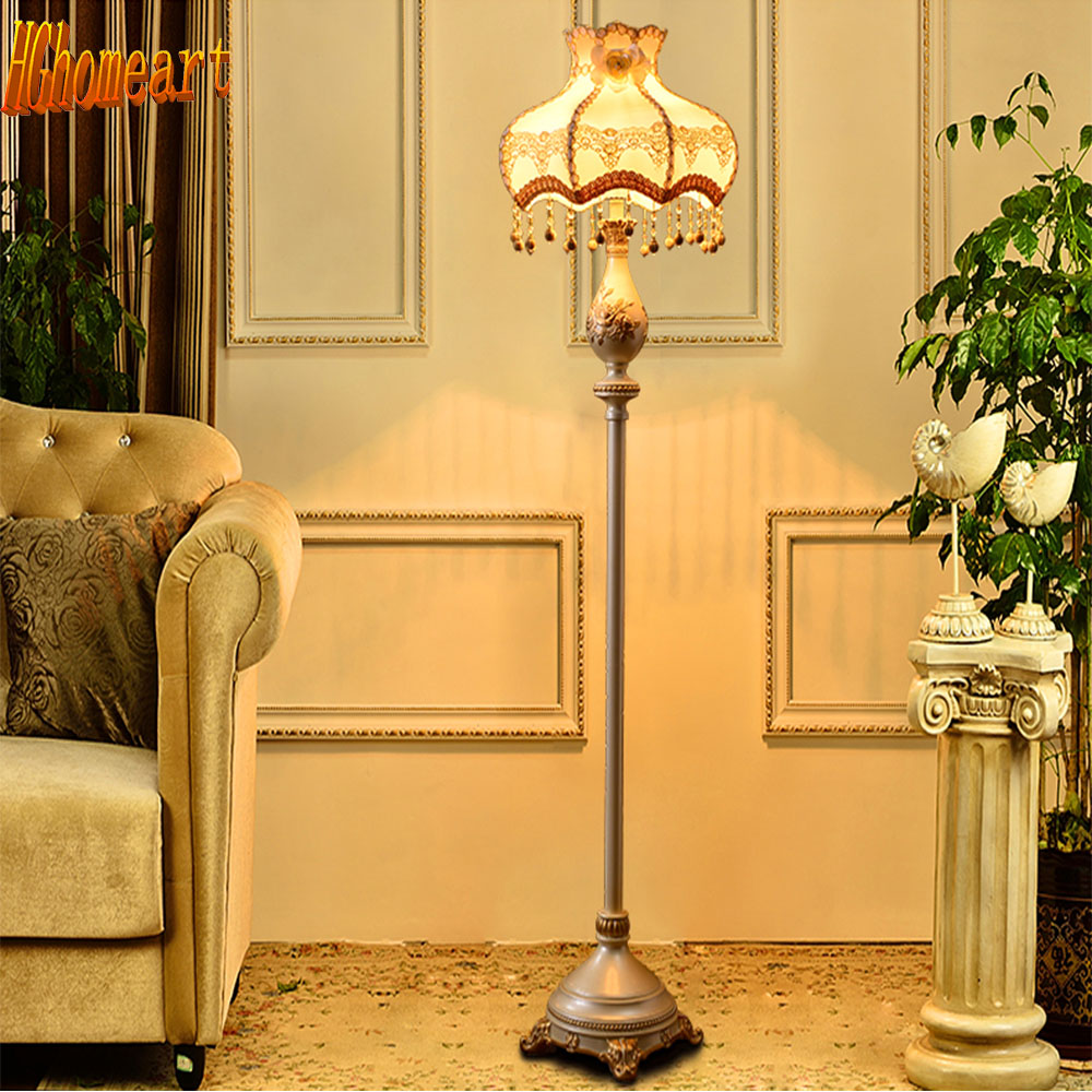high quality retro style led floor lamp living roo