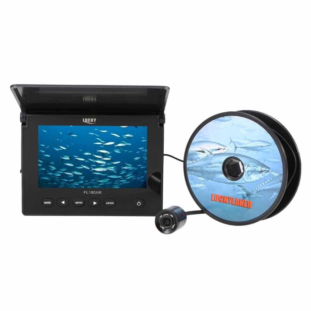 "20M 1000TVL Fish Finder Underwater Ice Fishing Video Camera 4.3"" LCD Monitor LED Fishing Camera"