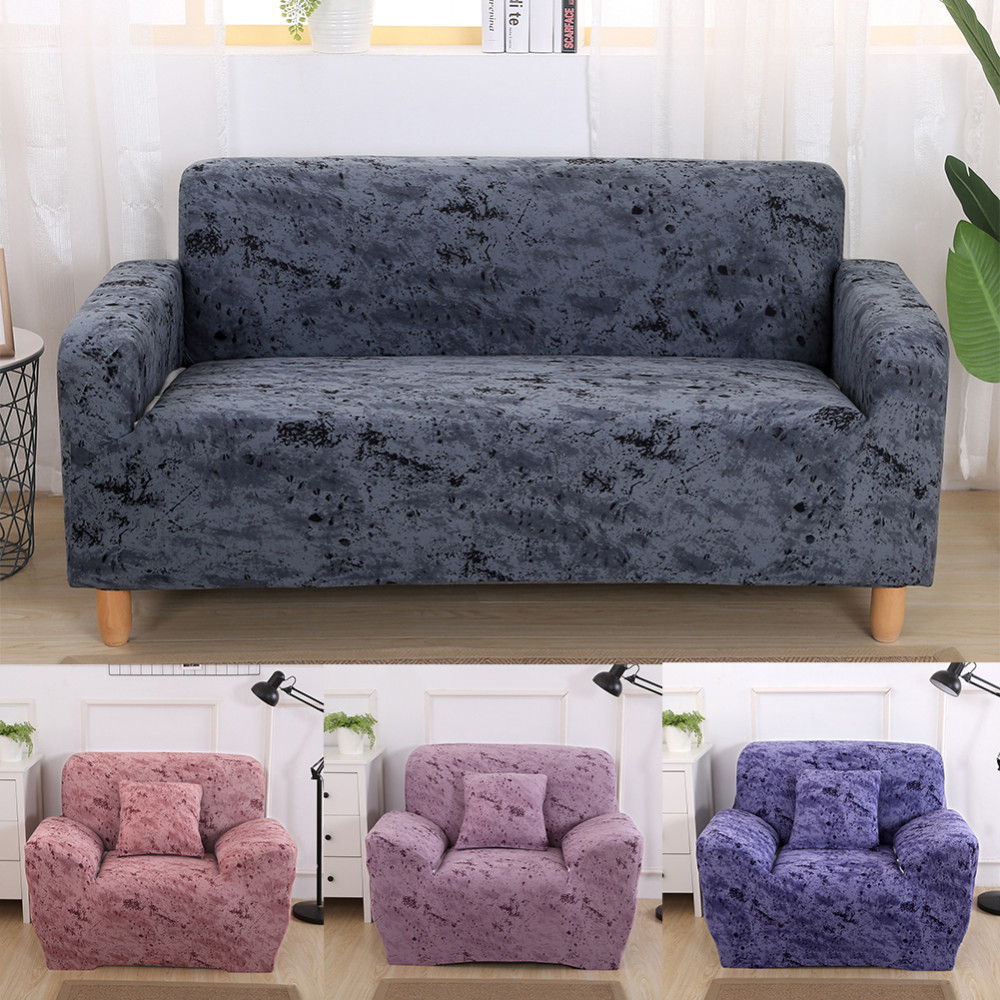 Phenomenal Us 18 98 30 Off Marble Pattern Stretch Sofa Covers Furniture Protector Elastic Cotton Modern Loveseat Couch Cover Sofa Towel 1 2 3 Seater In Sofa Gmtry Best Dining Table And Chair Ideas Images Gmtryco