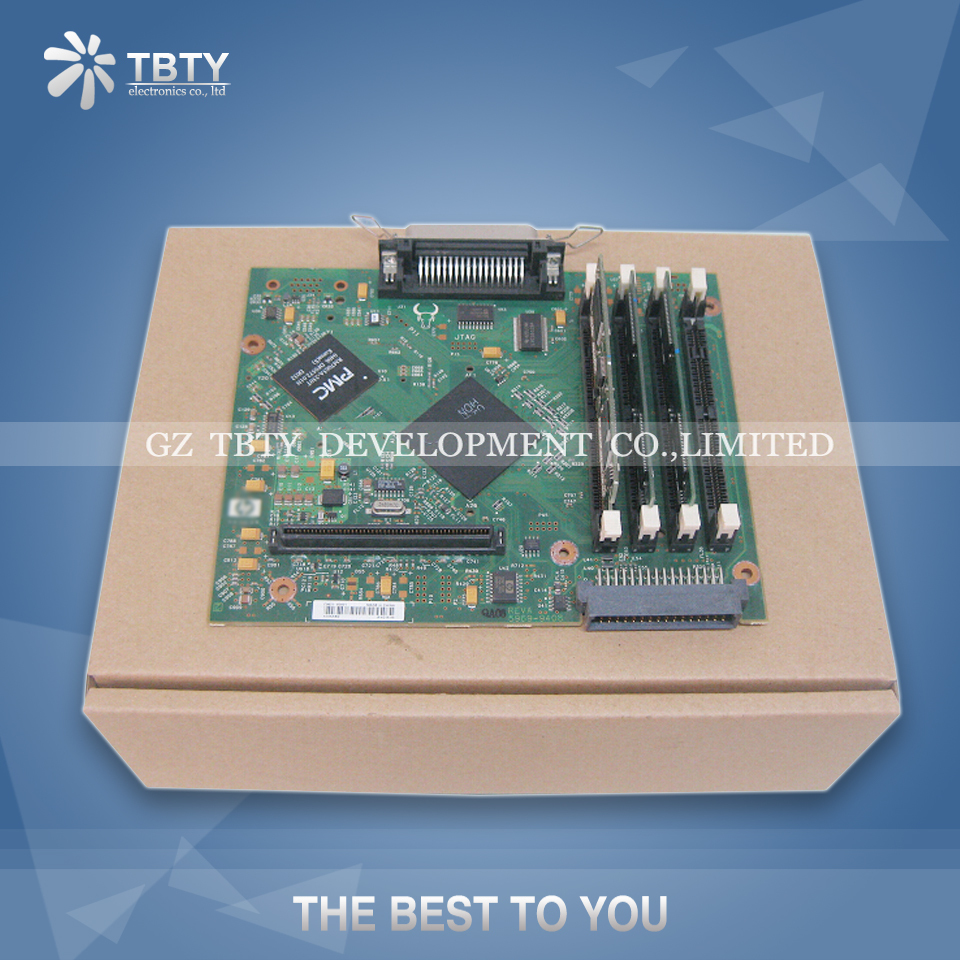 все цены на 100% Guarantee Test Main Formatter Board For HP 4300 C9651-67901 HP4300 Mainboard On Sale онлайн