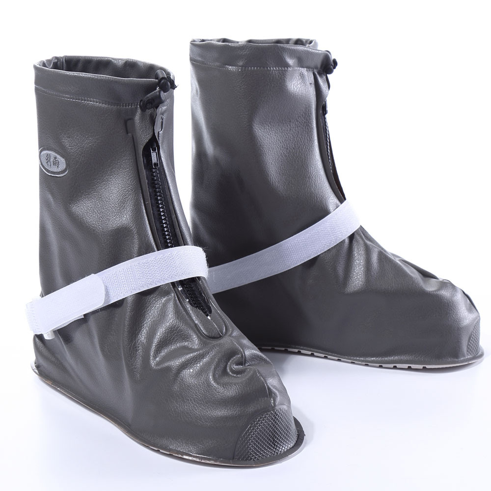 Thicker Waterproof Rain Shoes Cover Men Cycle Rain Boots Flat Slip-resistant Overshoes Rain Gear Shoes Protect NEW 2016