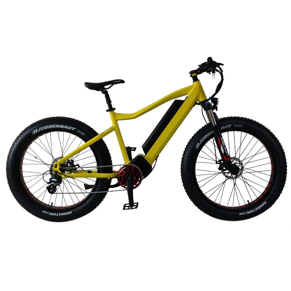 TOP Configurer 1000 w Moteur Puissant 26 ''Électrique Graisse Vélo, adopter 48 v 11.6AH 559WH BATTERIE, 20X4.0 Taille Fat Tire, ALLIAGE