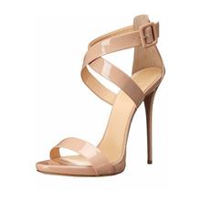2018 Brand Big Size 34-46 Rome New Style Fashion Woman Ankle Strap Woman Party Sandals Heels Open Toe Rome Casual Shoes TL-A0055 цены онлайн