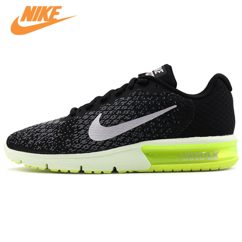 Original New Arrival Authentic NIKE AIR MAX SEQUENT 2 Breathable Mens Running Shoes Sports Sneakers Trainers