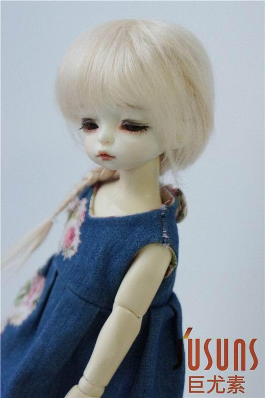JD211 1/6 YOSD perruque poupée mohair Froz caractère perruques BJD - Poupées et accessoires - Photo 3