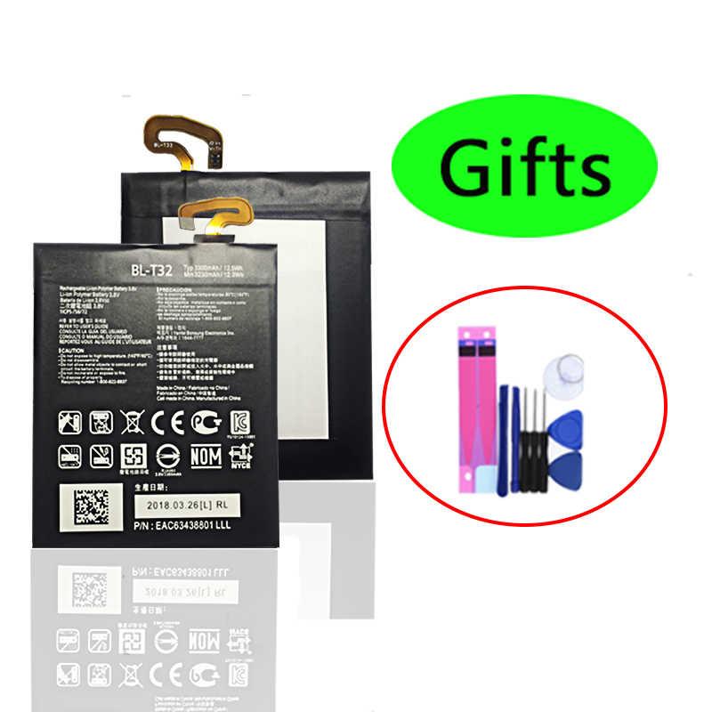 Baru BL-T32 Baterai Internal untuk LG G6 G600L G600S G600K G600V H870 H871 H872 H873 LS993 US997 VS988 3300 MAh baterai Isi Ulang
