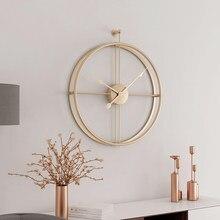 55cm grande relógio de parede silencioso design moderno relógios para decoração de casa escritório estilo europeu pendurado relógios de parede