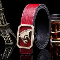 2016 Hot Sale Luxury Belt Woman Fashion Waistband High Quality Men Belts Designers Coffee Waist Strap