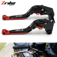 CNC Adjustable Dual Color Long Clutch Brake Lever Set Motorcycle Brakes Levers For Kawasaki Z900 2017