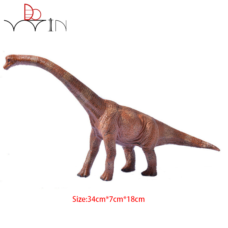 Jurassic Brachiosaurus Dinosaur Action & Toy Figures Animal Model High Quality Collection Birthday Gift bwl 01 tyrannosaurus dinosaur skeleton model excavation archaeology toy kit white