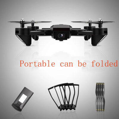Folding High-definition Professional Ultra Long Range Uav Aerial Photography Aircraft Four-axis Remote Control Helicopter Crash