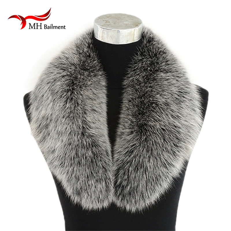 Top Fashion Solid New Winter Scarf Women Fox Fur Collar Fox Fur Caps Article Fake Warm Scarves Shawls Scarf, Hat Glove Sets L04