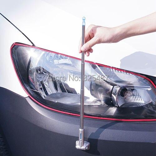 2 PZ LEMATEC Universale Elasticità Angolo Paraurti Pole per Posizione di Sicurezza Auto Pole Pole Taiwan Fatto Angolo Pole accessori Auto