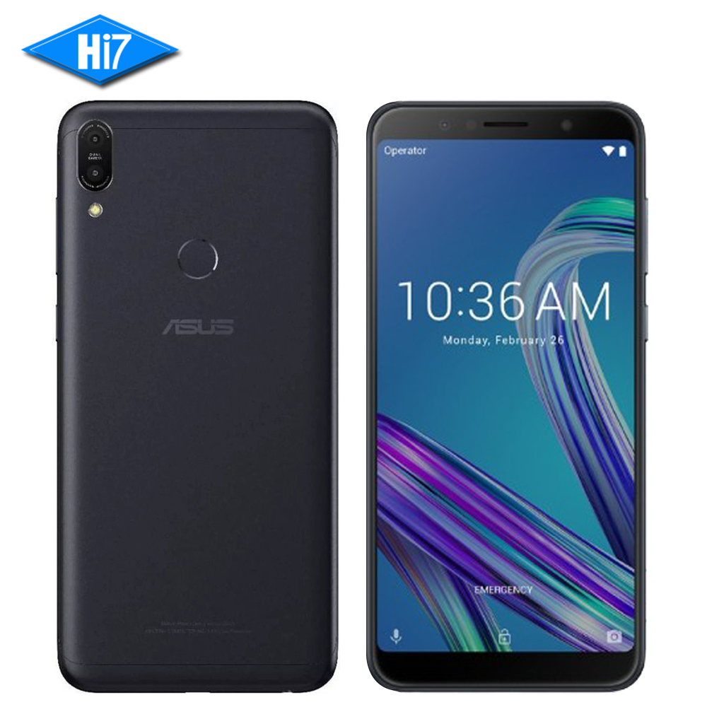 ASUS ZenFone Max Pro M1 ZB602KL 6 gb RAM 64 gb ROM 6 pouces 18:9 FHD Snapdragon 636 Android 8.1 double 16MP 4g LTE Visage ID Samrtphone