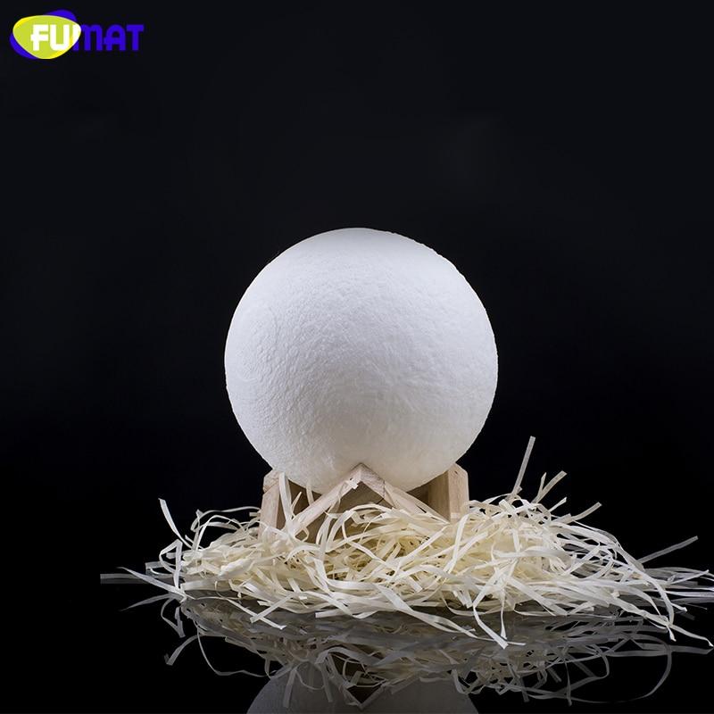 Mēness lukturis FUMAT 3D Print ar skārienjūtīgu slēdzi 3D - Nakts gaismas - Foto 6