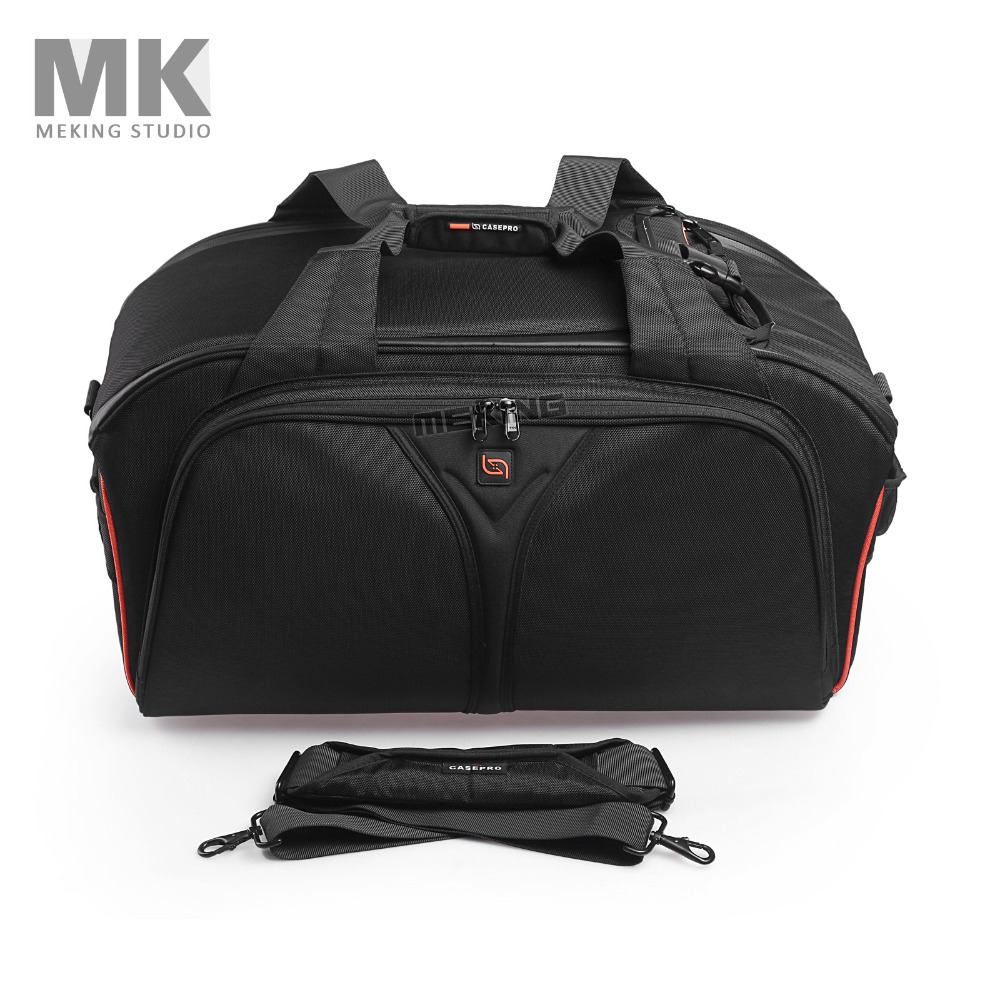 CASEPRO Waterproof Shoulder Bag VCR DSLR Camera Protective Bag Heavy Duty Rugged Case Bodyguard541 for Nikon Canon Sony Pentax