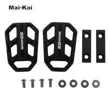 MAIKAI Motorcycle Accessories FOR BMW F850GS F850 GS 2013-2019 CNC Aluminum Alloy Widened Pedals maikai motorcycle accessories for bmw s1000xr s1000 xr 2015 2017 cnc aluminum alloy widened pedals