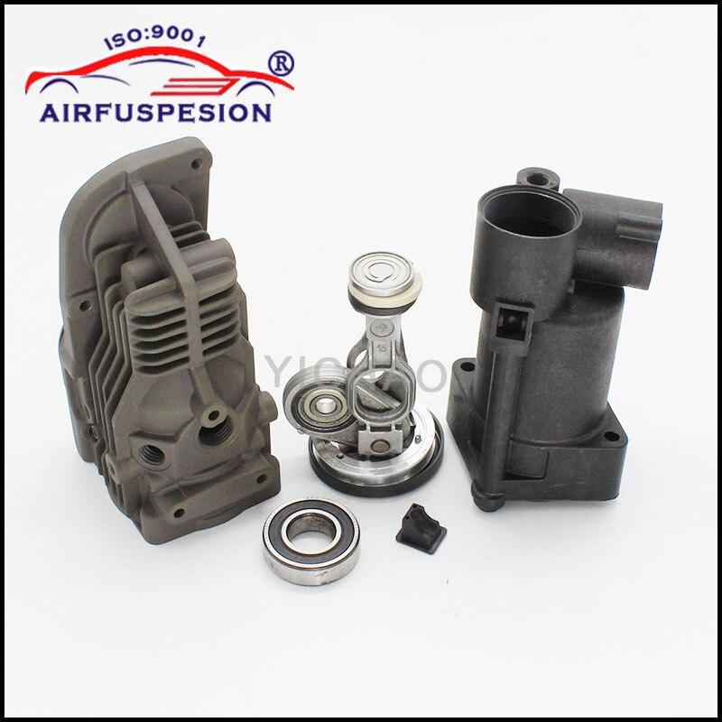 Für Mercedes W164 W221 W251 W166 Pleuel Kolben Luftfederung Kompressor Pumpe Reparatur Kits 1643201204 2213201304