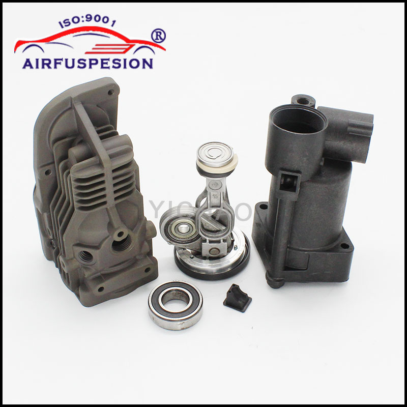 for Mercedes W164 W221 W251 W166 Connecting Rod Piston Air Suspension Compressor Pump Repair Kits 1643201204 2213201304