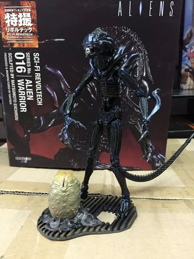 SCI-FIRECOLTECK Aliens Series 016 Allen Warrior Action Figure Collectible Model Toy