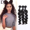 8A Brazilian Virgin Hair Weaving Unprocessed Human Hair Extensions 3Pcs Brazilian Loose Curly Hair Weave Bundles Aliexprss UK