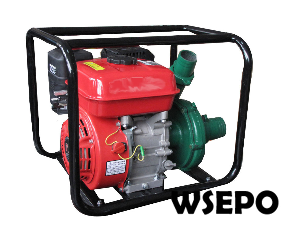 Factory Direct Supply! Inlet 2.5 In. Outlet 2 In. Cast Iron Centrifugal Water Pump Powered by WSE 170F 7HP 212CC Gasline Engine