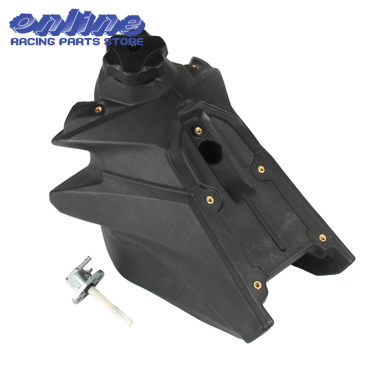 New Motorcycle motocross Gas Fuel Tank with petcock and gas tank cap for KTM SXF250 13-14 XCF250 11-14 XCF-W250 12-14 OEM Size lzone racing black aluminium fuel surge tank with cap foam inside fuel cell 40l without sensor jr tk21bk