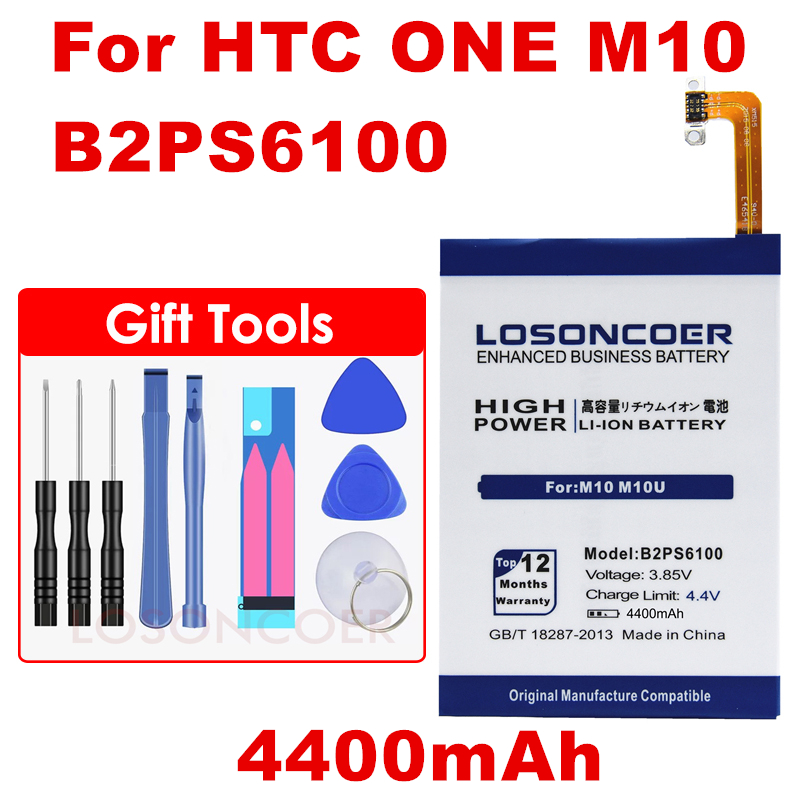 Cellphones & Telecommunications Amicable 4400mah B2ps6100 Phone Battery For Htc M10 M10u M10h Battery Free Tools Beneficial To The Sperm