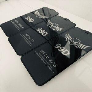 Image 2 - 99D verre protecteur pour iPhone 6 6S 7 8 plus X XR XS 11 pro MAX verre sur iphone 7 6 11 X XS MAX XR protecteur décran de protection
