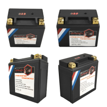 12V LiFePO4 Motorcycle Starter Battery 4Ah 5Ah 7Ah 9Ah 12Ah 14Ah CCA 160A-450A BMS 12V Lithium Battery For Scooter ATVs UTVs