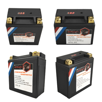 12V LiFePO4 Motorcycle Starter Battery 4Ah 5Ah 7Ah 9Ah 12Ah 14Ah CCA 160A-450A BMS 12V Lithium Battery For Scooter ATVs UTVs image
