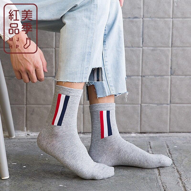 2018 Mens Socks Funny Men Socks 2017winter New Cotton Calcetines Hombre Sokken Calzini Skarpetki Novelty Ankle Chaussette Homme