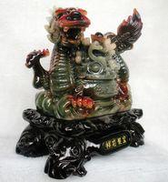 Long Yi Treasure Dragon Zhaocai Resin Imitation Yuxiang Transport Craft Gift