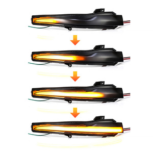 Image 2 - 2Pcs Car Rear View Mirror Indicator Streamer LED Dynamic Turn Signal Light For Mercedes Benz C E S Class W205 W213 W222 W217