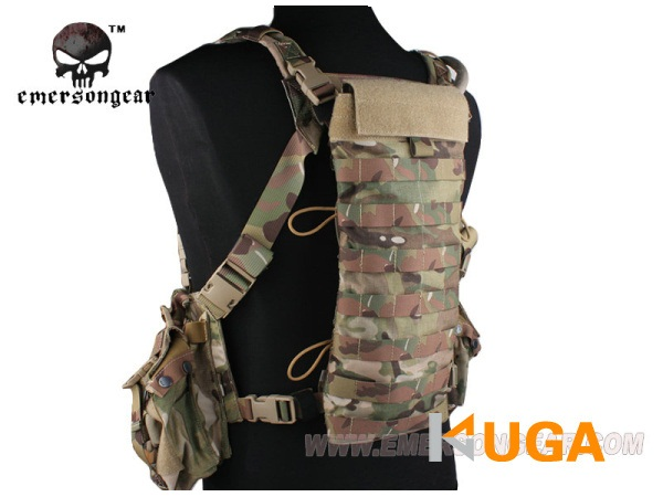 ФОТО NEW EMERSON LBT2649E Style 2.5L Hydration Back Panel MOLLE Pouch Cordura Hiking Camping Water Bag EM5815