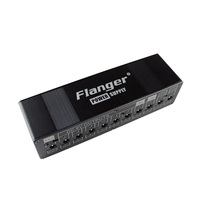 Flanger 9V 12V 18V Electric Guitar Effects Pedal Power Supply with 10 Isolated Outputs
