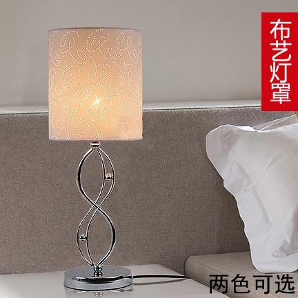 Современный минималистский моды прикроватная тумбочка для спальни лампа настольная лампа регулируемая светодиодная лампа украшения и теп...