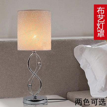 Modern minimalist fashion bedroom bedside lamp table lamp light adjustable LED lamp decoration and warm personality