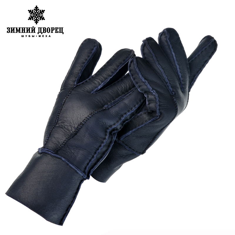 Hot Men Leather Gloves Fashion For Winter Warm Wool Gloves,winter Gloves Warm Thick Leather Gloves, A Variety Of Colors The Opti