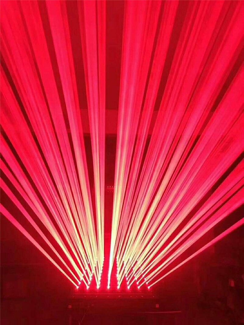 5600MW Moving head RED laser array R638NM 700mW rough spotX8PCS stage party disco KTV bar club theatre studio iluminacion light - 2
