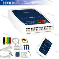 CONTEC 8000G Multi function PC ECG/EKG Workstation System 12 Lead Resting Manufature Company Promotion