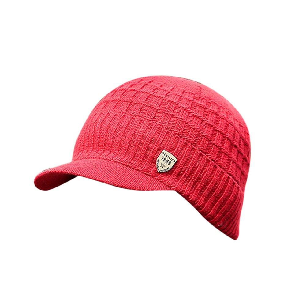 81e819ac425 Dropwow Men Warm Baggy Weave Crochet Winter Wool Knit Ski Caps Hats ...